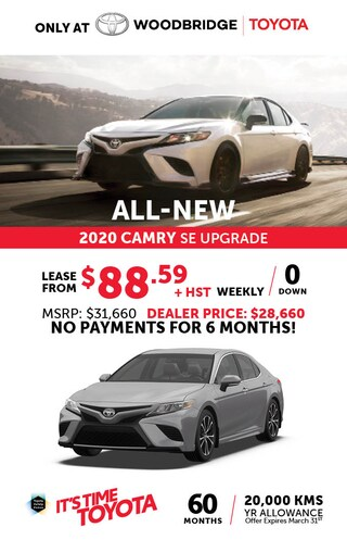 It's Time to Toyota with 2020 Toyota Camry SE Upgrade