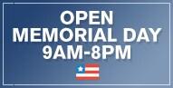 Open Memorial Day
