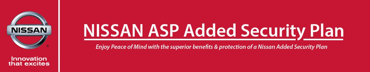 Nissan ASP Added Security Plan - Woodchester Nissan