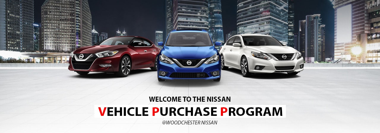 Nissan Vehicle Purchase Program - Woodchester Nissan