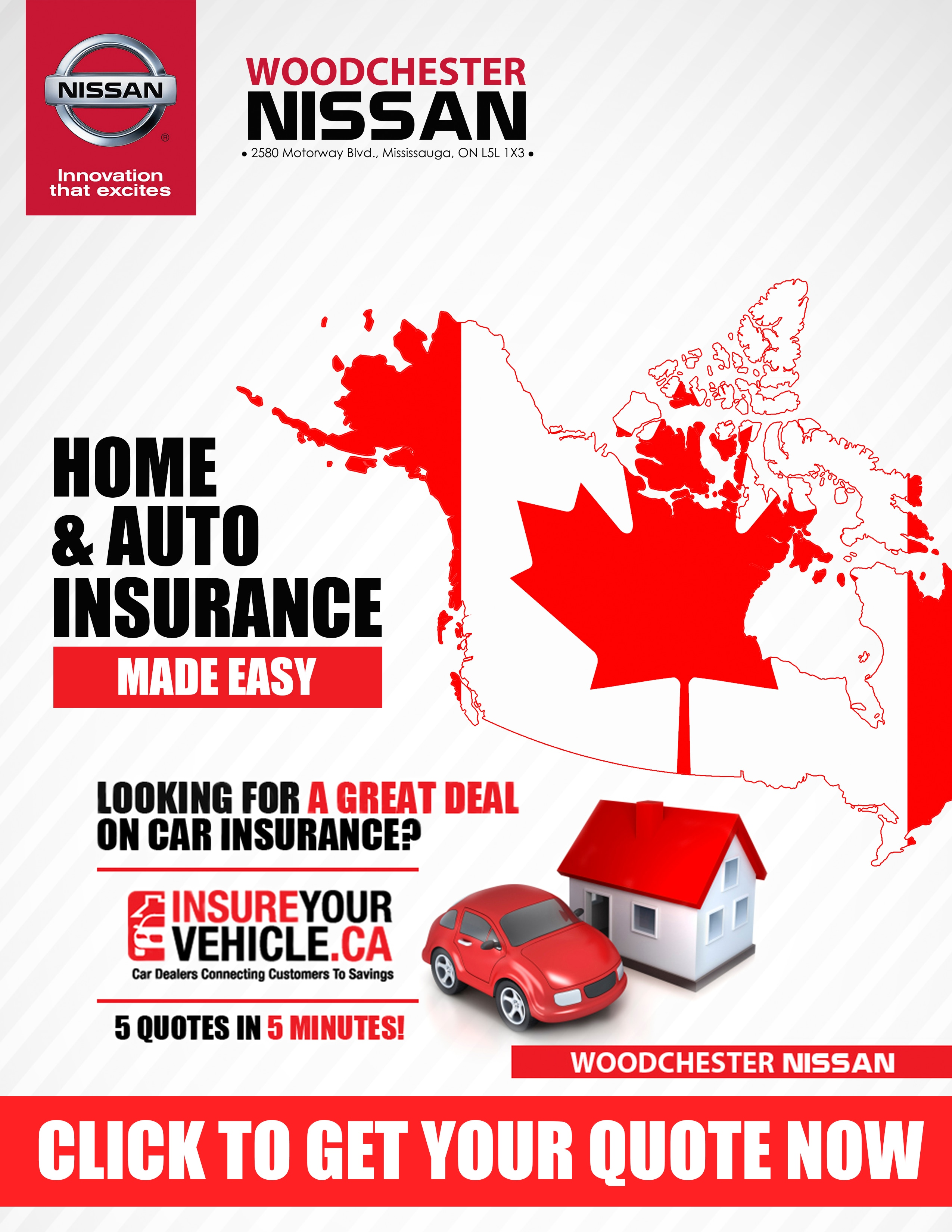 Insure your vehicle - Woodchester Nissan