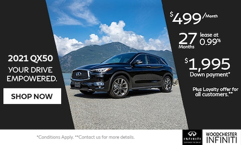 2021 QX50 YOUR DRIVE. EMPOWERED.