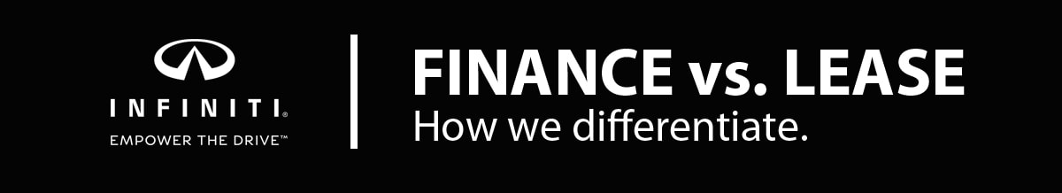 Finance vs Lease - Woodchester Infiniti