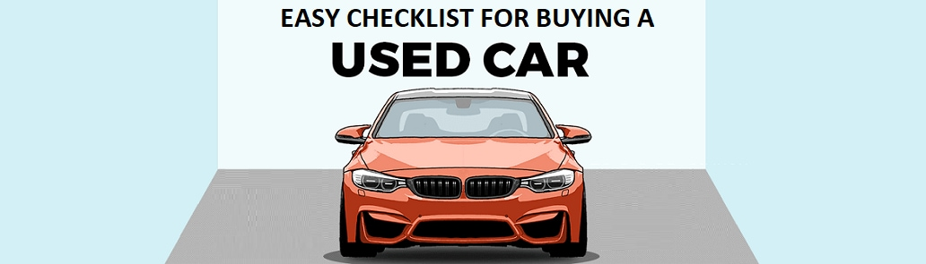 Easy Checklist For Used Car Buying