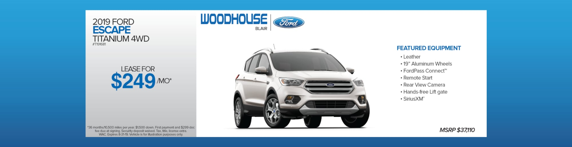 New & Used Ford Models | Woodhouse Ford Inc  | Blair, NE