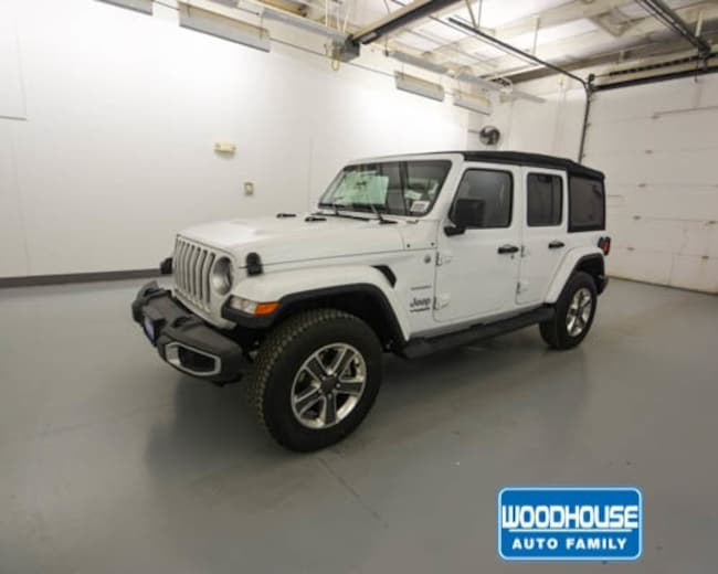 New 2018 Jeep Wrangler UNLIMITED SAHARA 4X4 Sport Utility for sale in Blair, NE