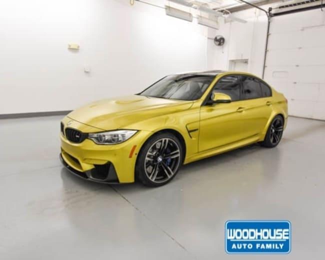Used 2017 BMW M3 Sedan for sale in Blair, NE