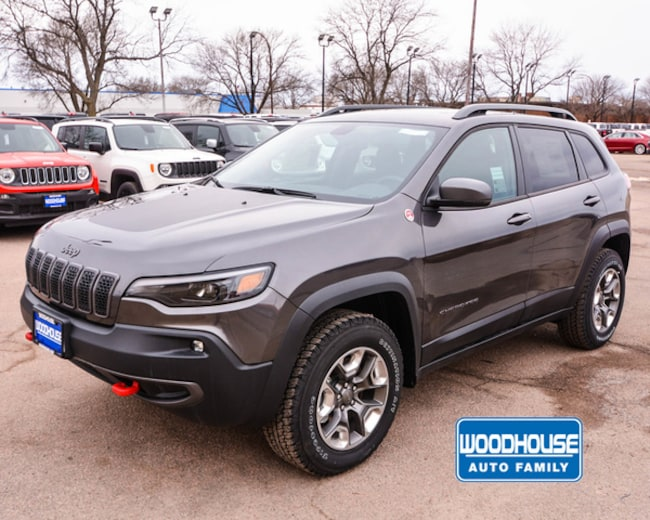New 2019 Jeep Cherokee TRAILHAWK 4X4 Sport Utility in Sioux City