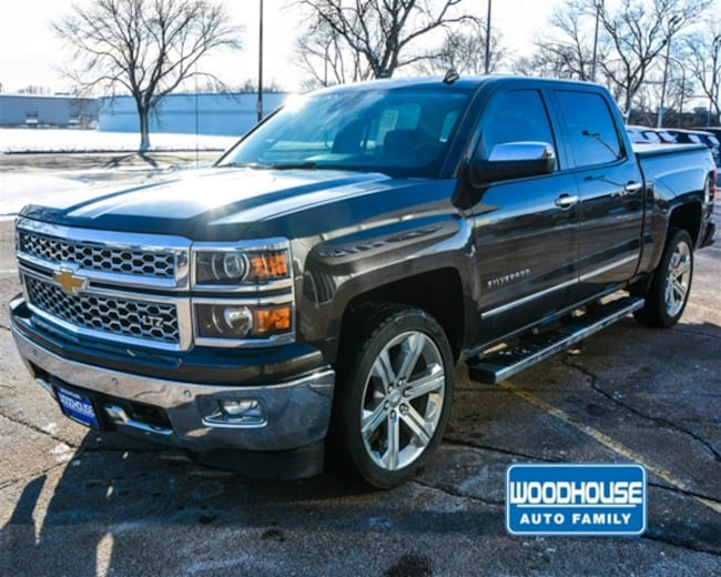 Used 2014 Chevrolet Silverado 1500 LTZ Truck Crew Cab in Sioux City