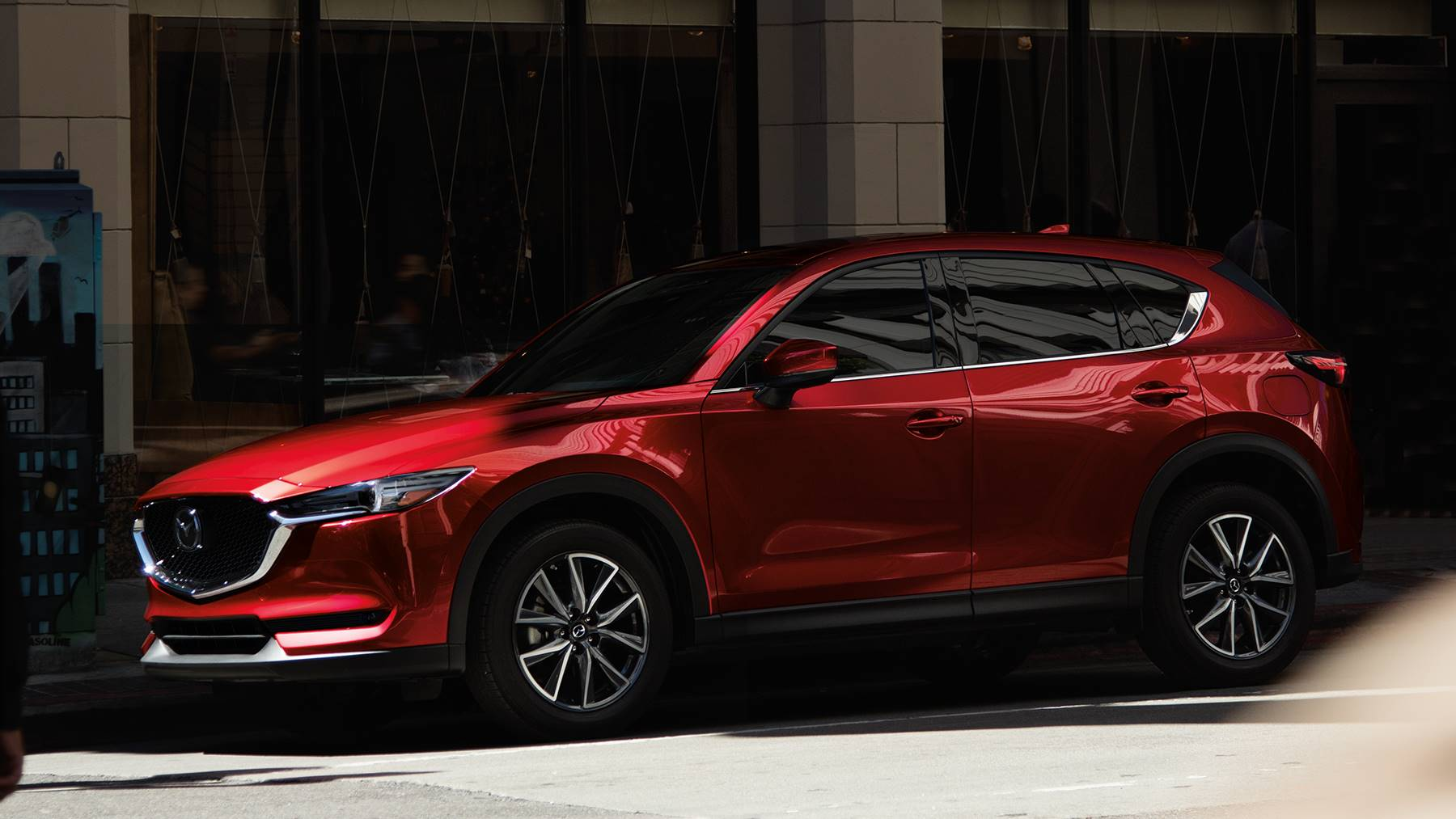 Also Included To Help Everyone Have A Comfortable And Connected Ride Are  Tech Features Like A 7 Inch Touchscreen, The MAZDA CONNECT™ Infotainment  System ...