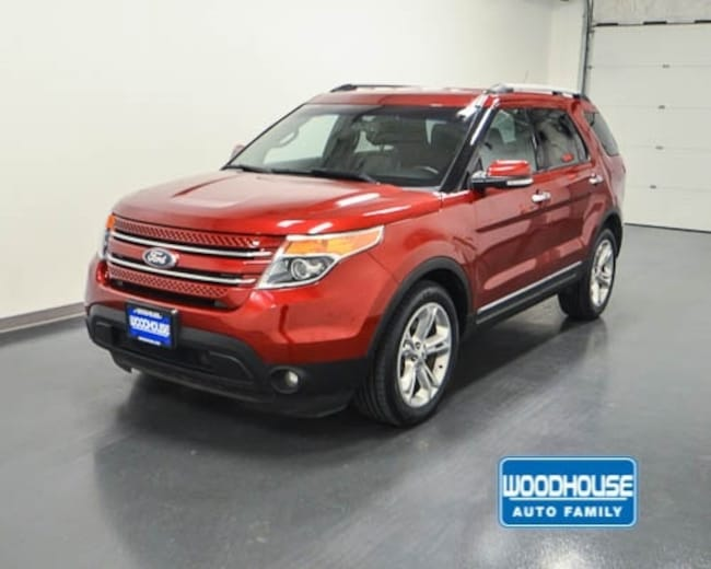 2015 Ford Explorer Limited 4WD SUV