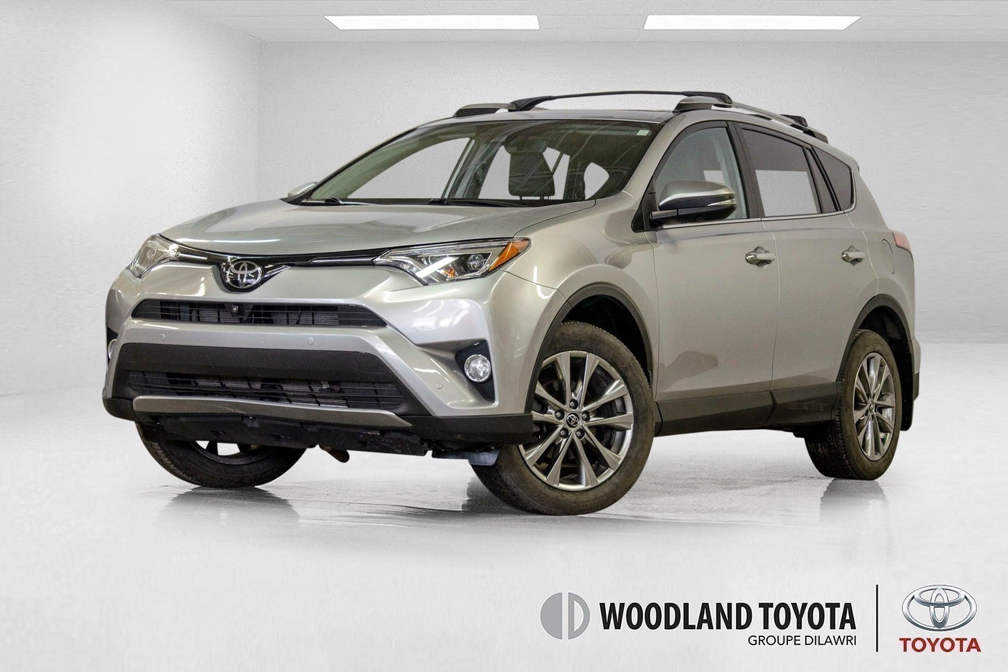 2017 Toyota Rav4 Limited / Awd / Cuir / Toit / Bluetooth ++ SUV