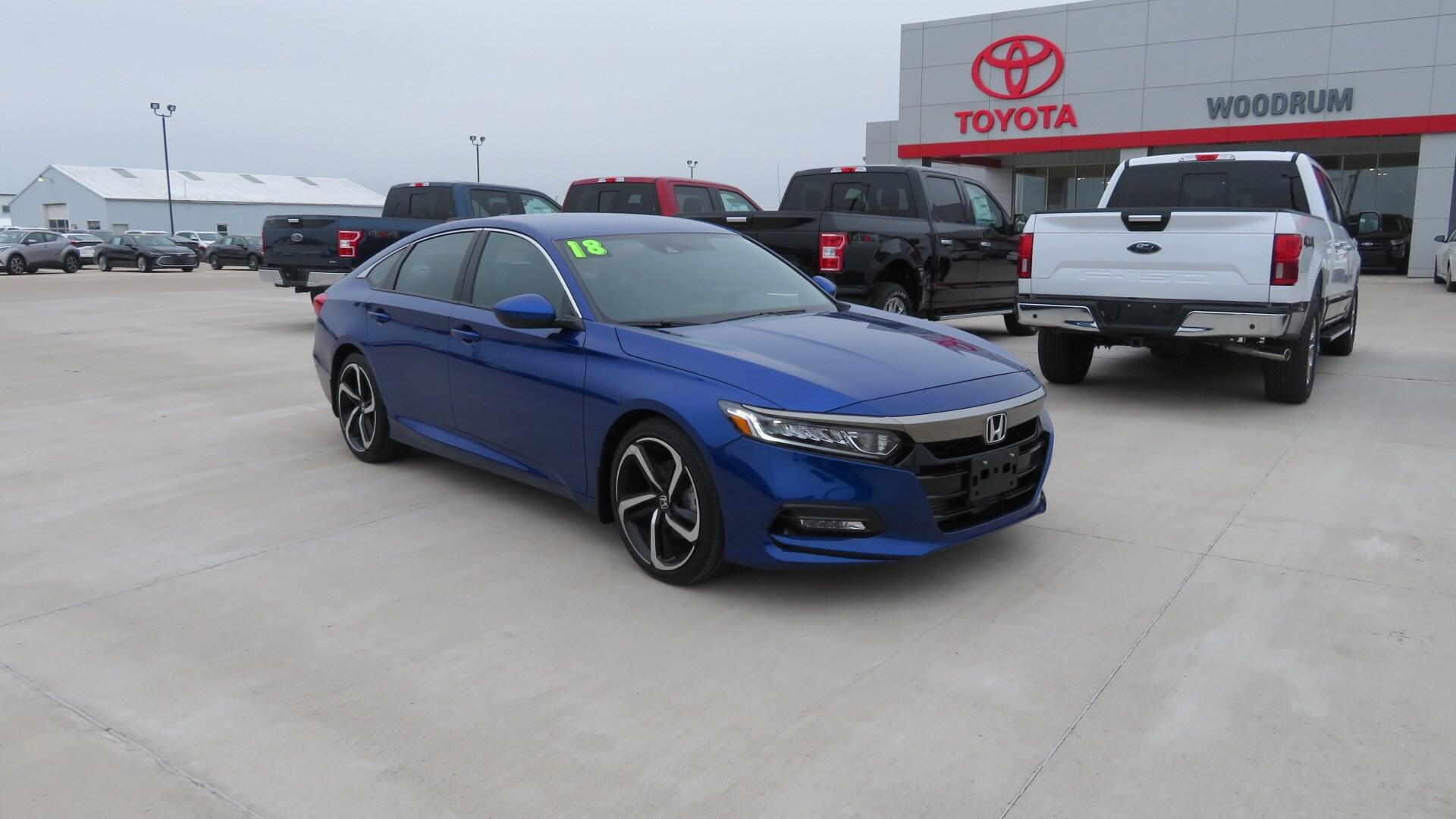Used 2018 Honda Accord For Sale   Macomb IL   1HGCV1F34JA258573