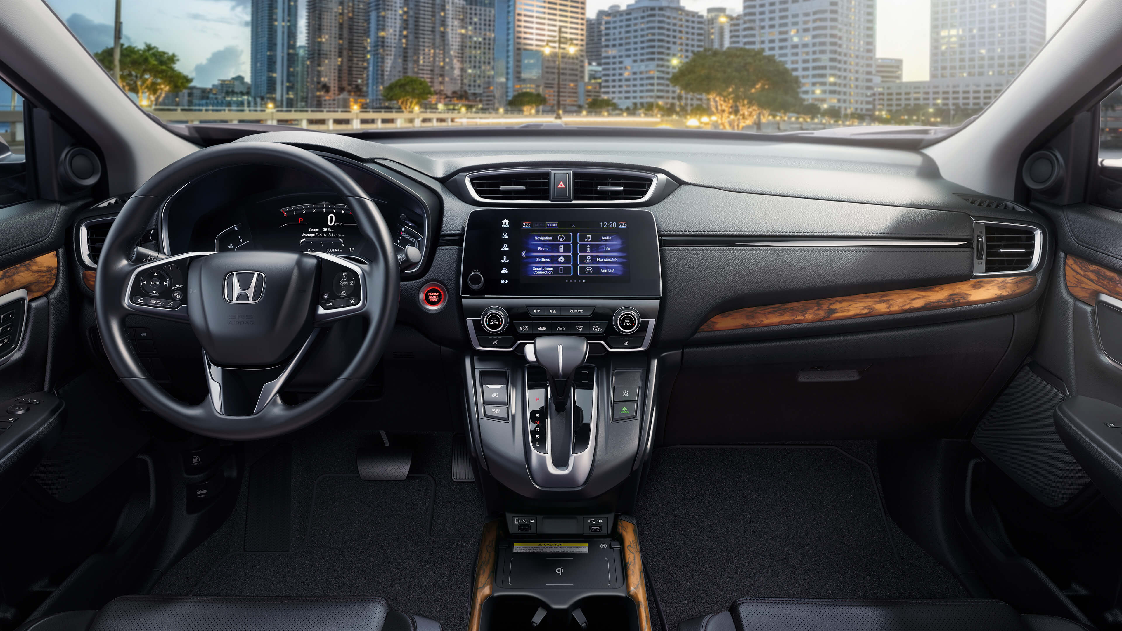 2020 Honda CR-V Interior - Wood Wheaton Honda