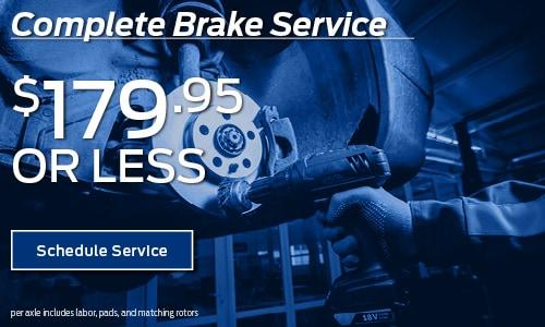 Complete Brake Service