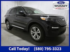 New 2020 Ford Explorer Platinum SUV for sale or lease in Madill, OK