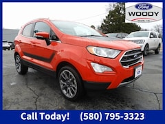 New 2021 Ford EcoSport Titanium Crossover for sale in Madill Ok