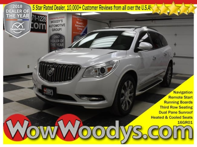 2016 Buick Enclave Premium AWD 3.6L V6 Sunroof Leather Heated Cooled Seats Re