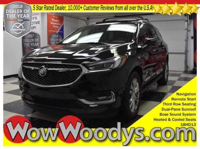 2018 Buick Enclave Avenir AWD 3.6L V6 Roof Rack Leather Heated Cooled Seats