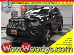2016 Jeep Compass High Altitude Edition 4x4 2.4L I4 Sunroof Leather Heated Seats Remote St