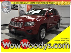 2017 Jeep Compass Latitude FWD 2.4L I4 Leather Heated Seats CD Stereo Keyless