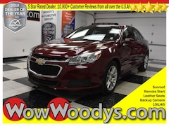 2015 Chevrolet Malibu LT FWD 2.5L I4 Sunroof Leather Seats Remote Start