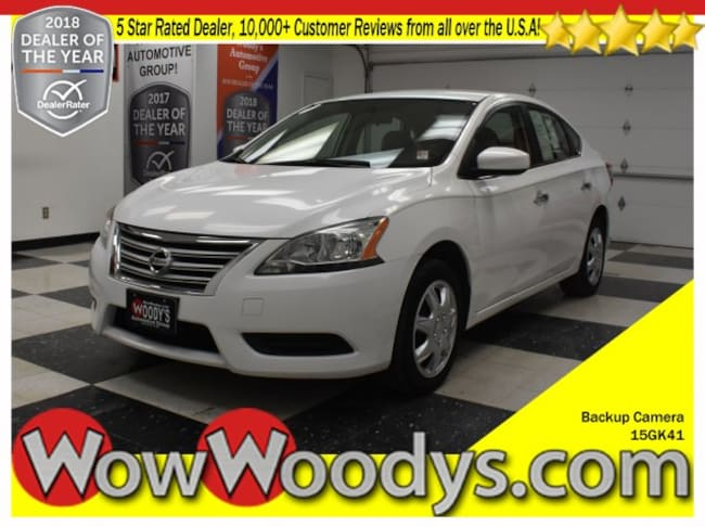2015 Nissan Sentra SV FWD 1.8L I4 5 Inch Media Touch Screen Backup Camer