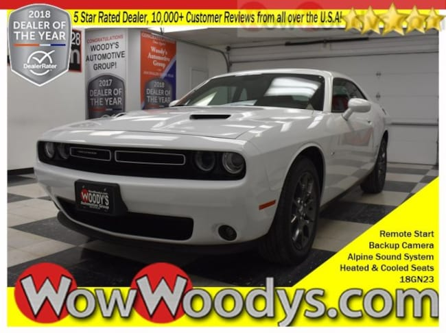 2018 Dodge Challenger GT AWD 3.6L V6 Leather Heated Cooled Seats Remote Sta