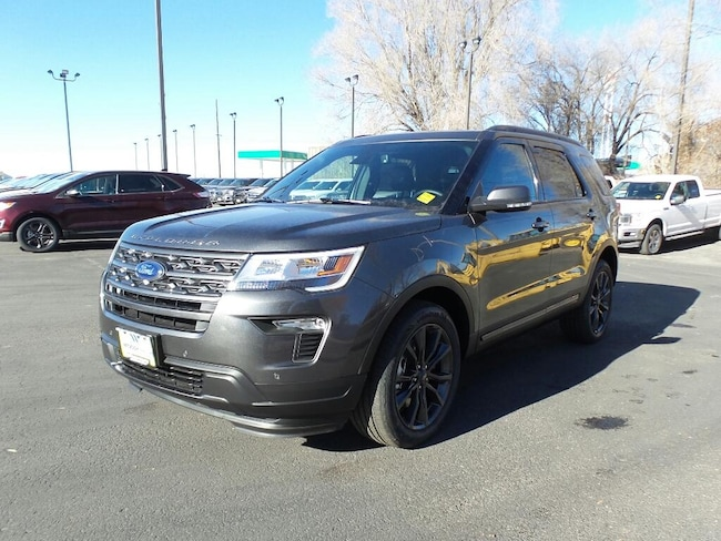 New 2019 Ford Explorer XLT SUV in Rexburg, ID