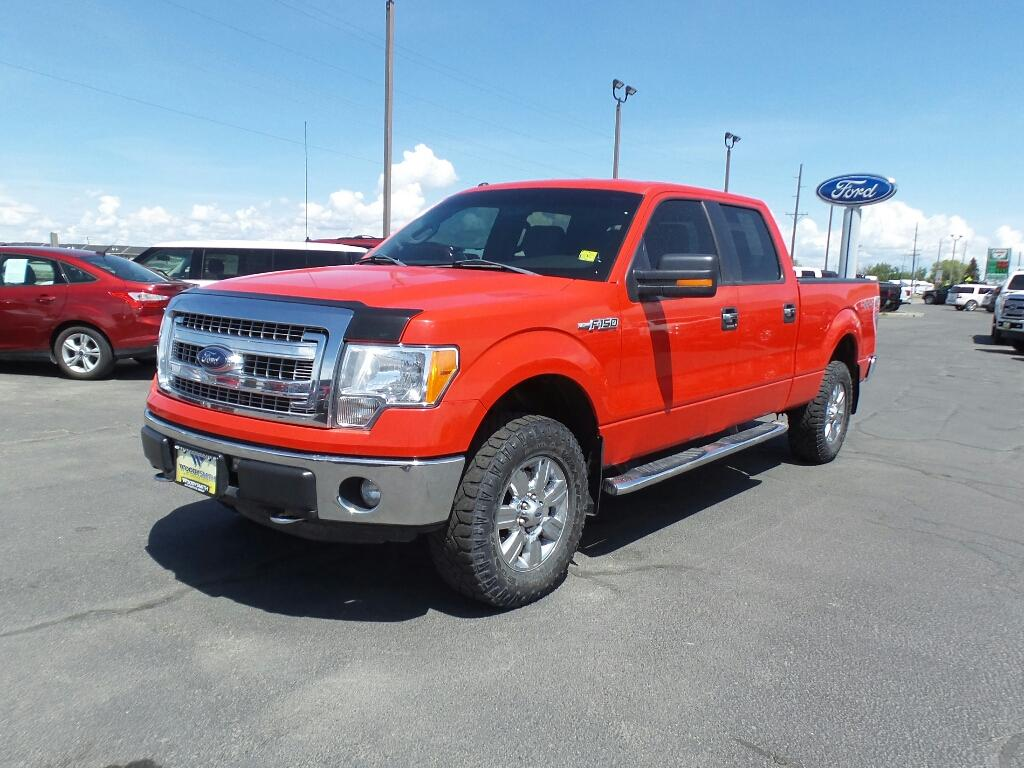 2013 Ford F-150 XLT 4WD SuperCrew 157