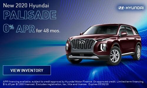 New 2020 Hyundai Palisade