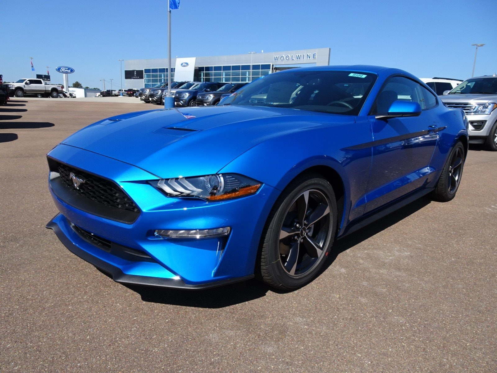 New 2019 ford mustang ecoboost coupe i 4 cyl in silver city nm