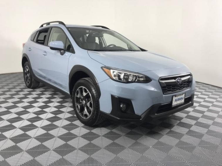 Used 2018 Subaru Crosstrek 2.0i Premium CVT Sport Utility JF2GTADC0J8340172 in Savoy, IL