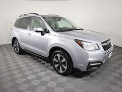 Certified Pre-Owned 2018 Subaru Forester 2.5i Limited CVT Sport Utility JF2SJALC6JH618106 for sale in Savoy, IL