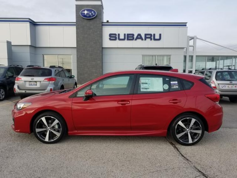 New 2018 Subaru Impreza 2.0i Sport 5-door in Savoy, IL