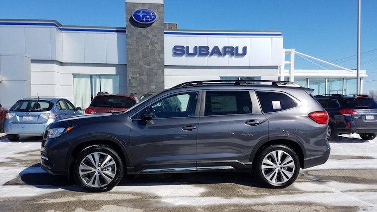New 2019 Subaru Ascent Limited 8-Passenger SUV in Savoy, IL