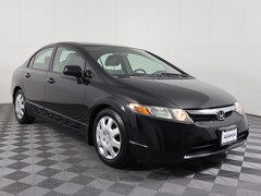 Bargain 2007 Honda Civic 4dr AT LX Car 1HGFA16527L121669 for sale in Savoy, IL