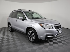 Certified Pre-Owned 2018 Subaru Forester 2.5i Premium CVT Sport Utility JF2SJAGC4JH540967 for sale in Savoy, IL