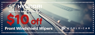 Hyundai - Save On Windshield Wipers
