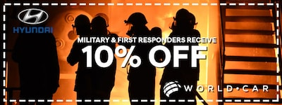 10% off Military & First Responders