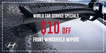 Save $10 on Front Windshield Wipers
