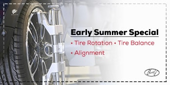 Smooth Out Your Ride With Our Early Summer Special!