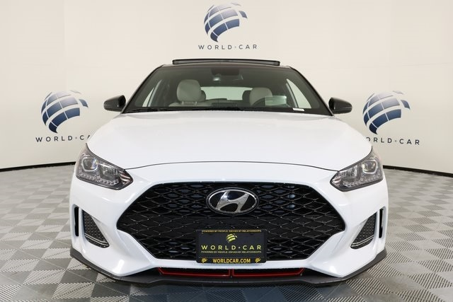 New 2019 Hyundai Veloster For Sale at World Car Hyundai South | VIN:  KMHTH6AB2KU012831