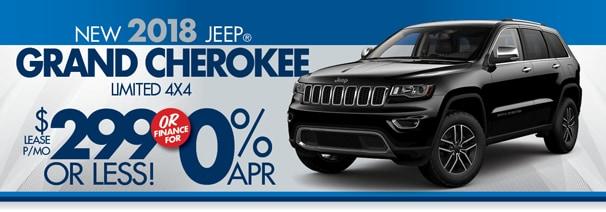 Perfect 2018 Grand Cherokee $299/mo   World Jeep Lease U0026 Loan Deals