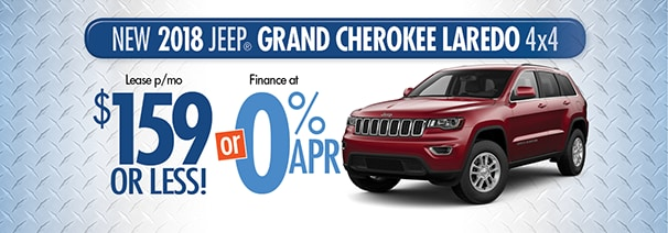 18 Grand Cherokee $159/month   World Jeep Lease U0026 Loan Deals