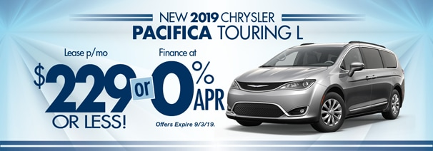 Chrysler Pacifica Lease >> 2019 Pacifica 229 Month World Chrysler Lease Loan Deals World