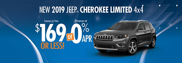 Cherokee For Less >> 2019 Cherokee 169 Month World Jeep Lease Loan Deals World