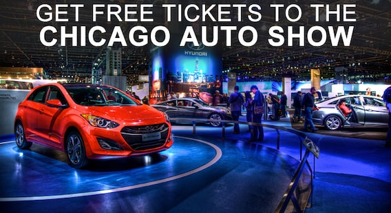 Free Tickets To The Chicago Auto Show - How much are the tickets for the car show