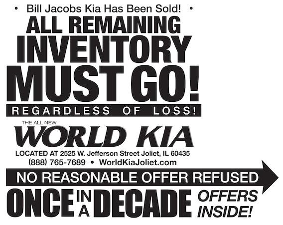 World Kia Joliet Bill Jacobs Kia Sold