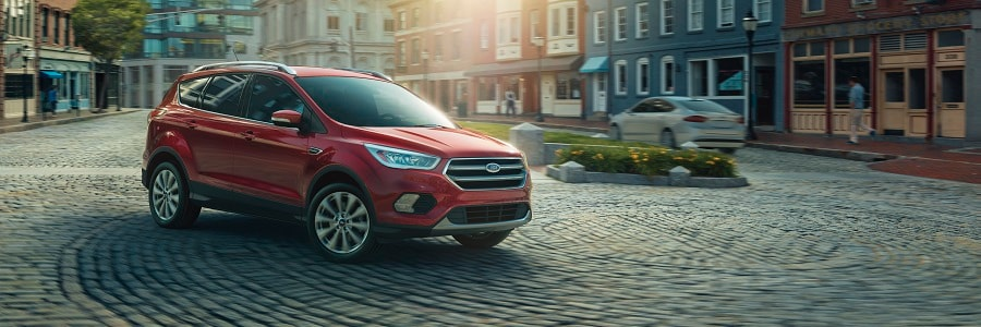2018 Ford Escape In Ruby Red